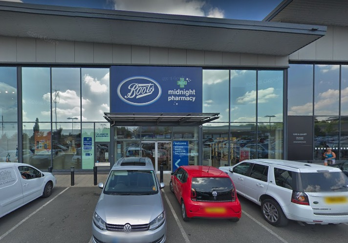 THEFT: The Boots store in Evesham where the theft took place