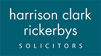 Evesham Journal: Harrison Clark Rickerbys Solicitors logo