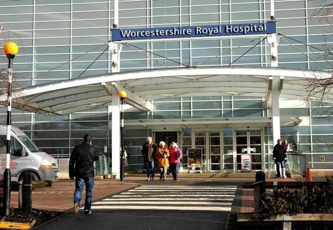 CONCERNS: Worcestershire Royal Hospital.