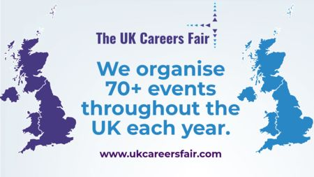 The UK Careers Fair in Coventry 3rd April
