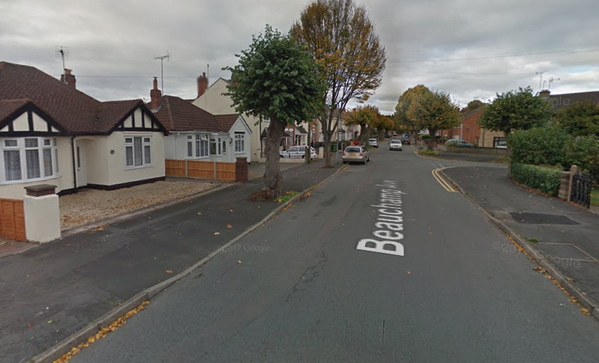 Beauchamp Avenue, Kidderminster. Photo from Google Maps