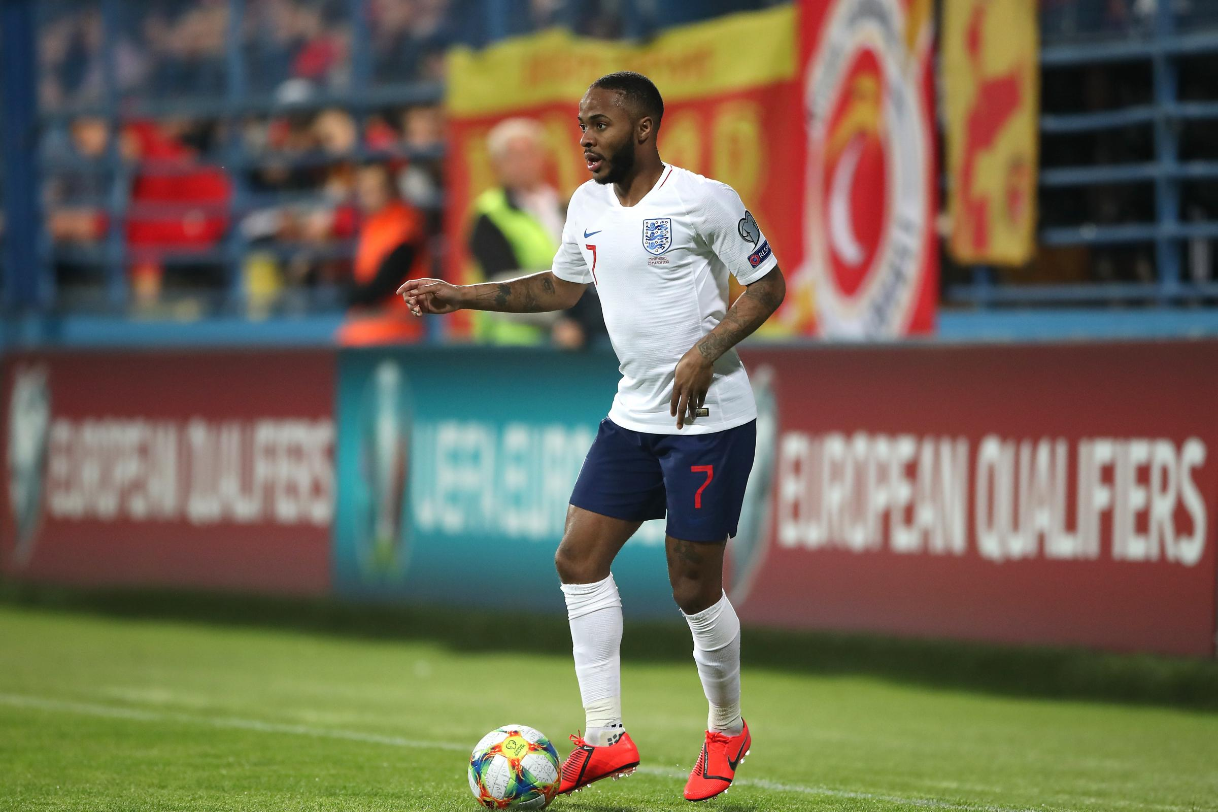 Raheem Sterling was subjected to racist abuse