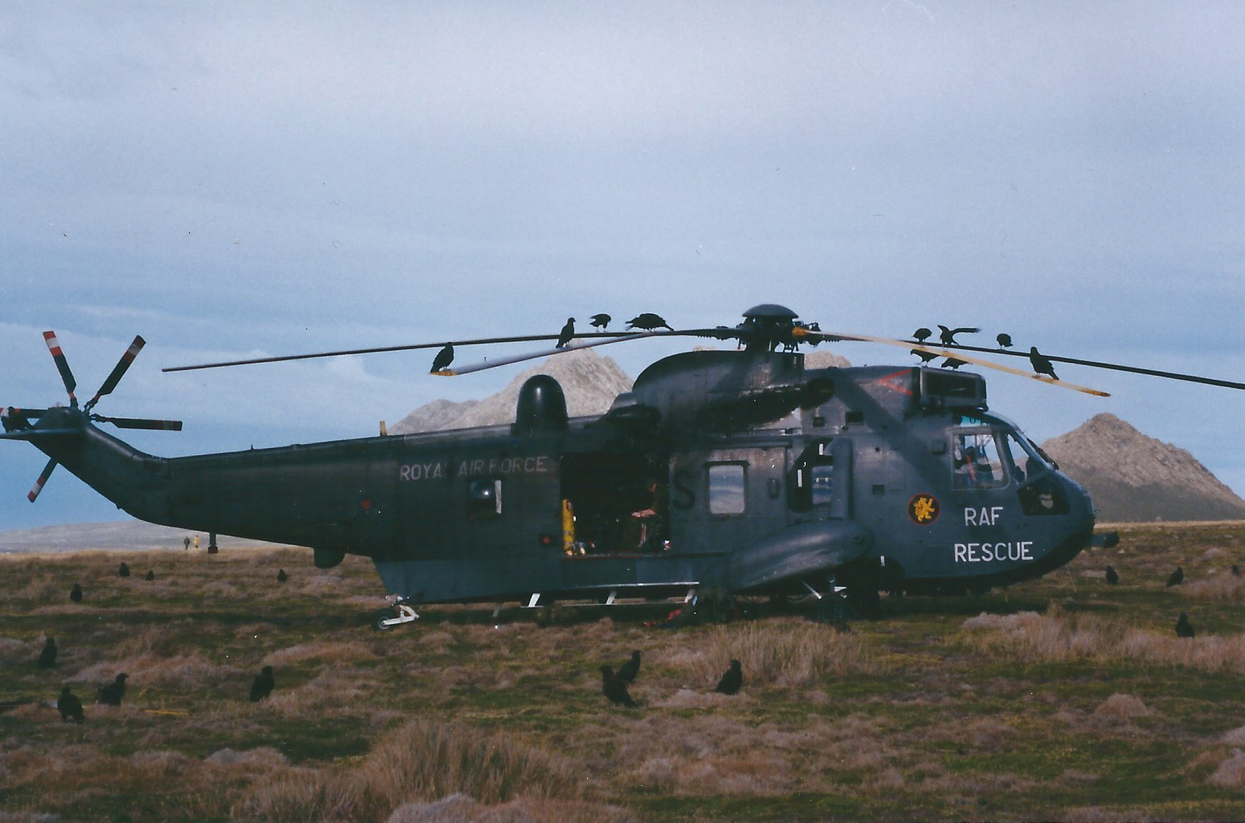 Photo Credit: Mike Ansell Picture: Whirlybirds Falkland Islands