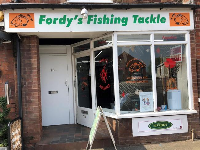 FAMILY FIRM: Fordy's Fishing Tackle in Pershore High Street