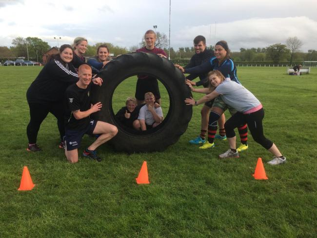 TURN UP AND TUNE UP: Pershore RFC is hosting free fitness sessions