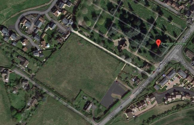 SIGHT: Proposed sight for a community hall next to Pershore Cemetery, off Defford Road